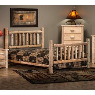 Lakeland Mills Timber Log Panel Bed