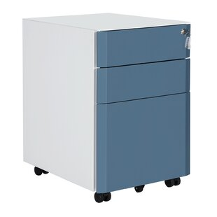 Mccue 3 Drawer Filing Cabinet By Rebrilliant