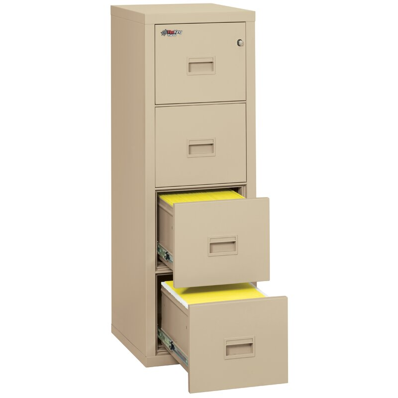 Fireking Turtle Fireproof 4 Drawer Vertical File Cabinet Reviews