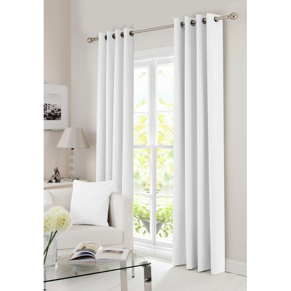 Aubergine Solid Window Curtain Panel 100/% Blackout Lined 8 Grommet Panel