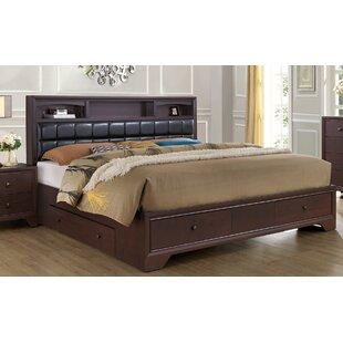 Alcott Hill Hunsinger Full Upholstered Storage Panel Bed