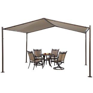 13 Ft. W x 12 Ft. D Steel Pop-Up Canopy b..