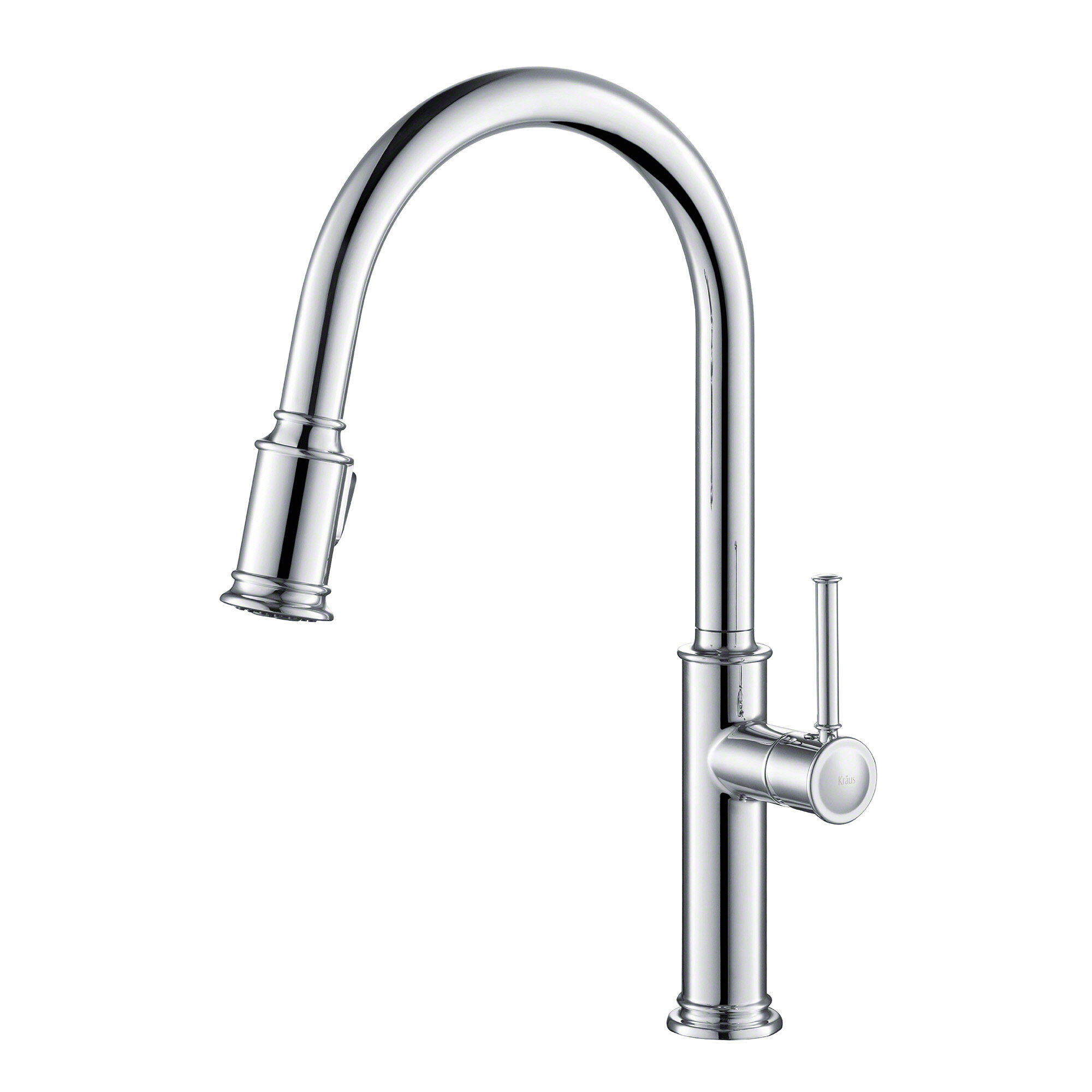 Kraus Sellette Pull Down Single Handle Kitchen Faucet & Reviews ...