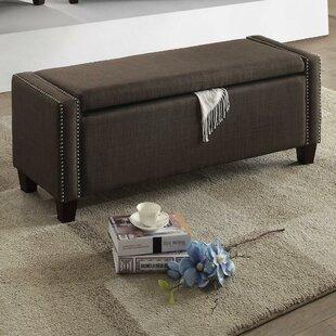 Alcott Hill Lafon Upholstered Storage Bench