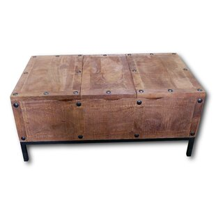 Gaener Trunk Coffee Table by Millwood Pines
