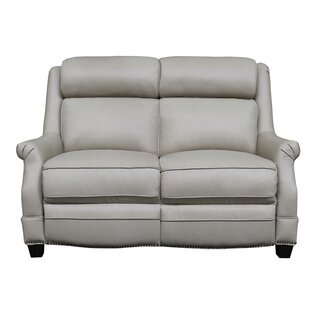 Cheadle Leather Reclining Loveseat