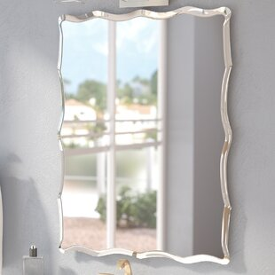 Redcliffe Frameless Wall Mirror By Wade Logan