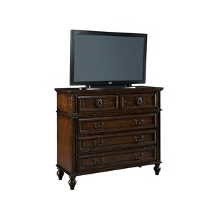 Astoria Grand Stoner 5 Drawer Media Chest Image