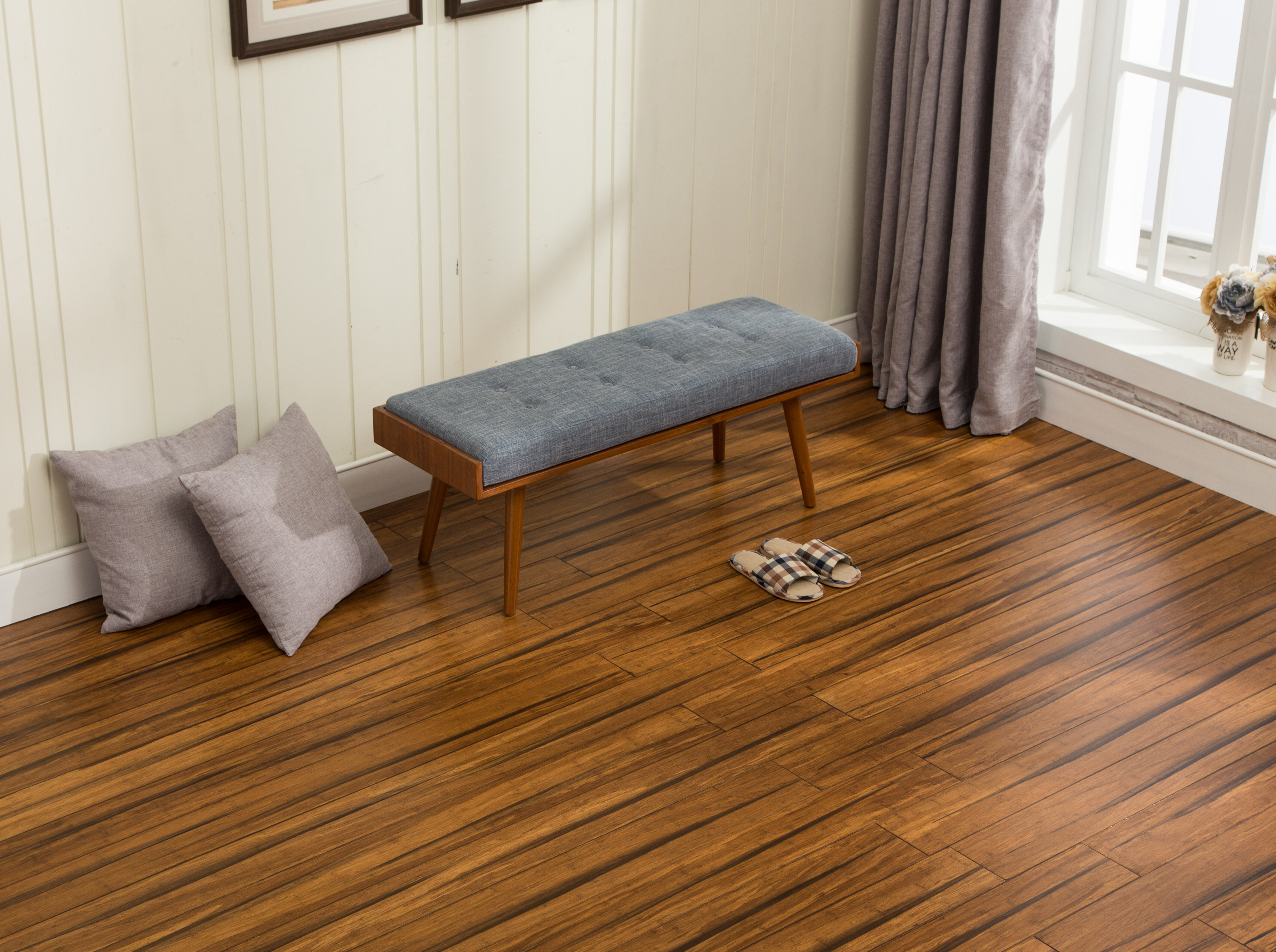 Ecofusion Flooring Bamboo 5 9 Thick X 5 2 3 Wide X 73 Length