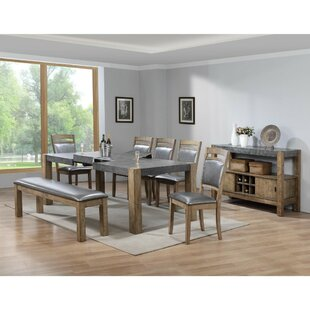Liska Extendable Dining Table by 17 Stories Purchase