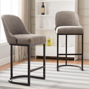 Compare Hambleton Bar Stool (Set of 2) by Ivy Bronx Reviews (2019) & Buyer's Guide