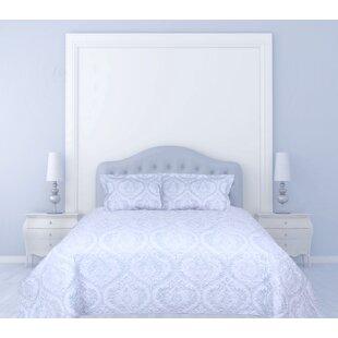 One Allium Way Proclus 3 Piece Quilted Reversible Comforter Set