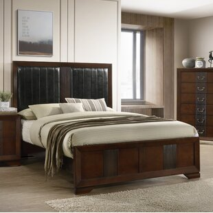 Winston Porter Foote Upholstered Panel Bed