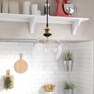 Amador 1-Light Globe Penda..