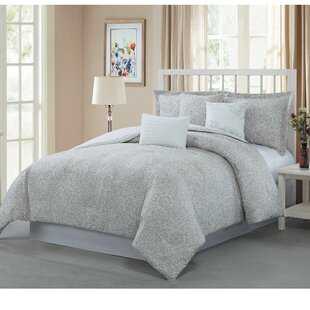 McGuire 7 Piece Reversible Comforter Set by Darby Home Co