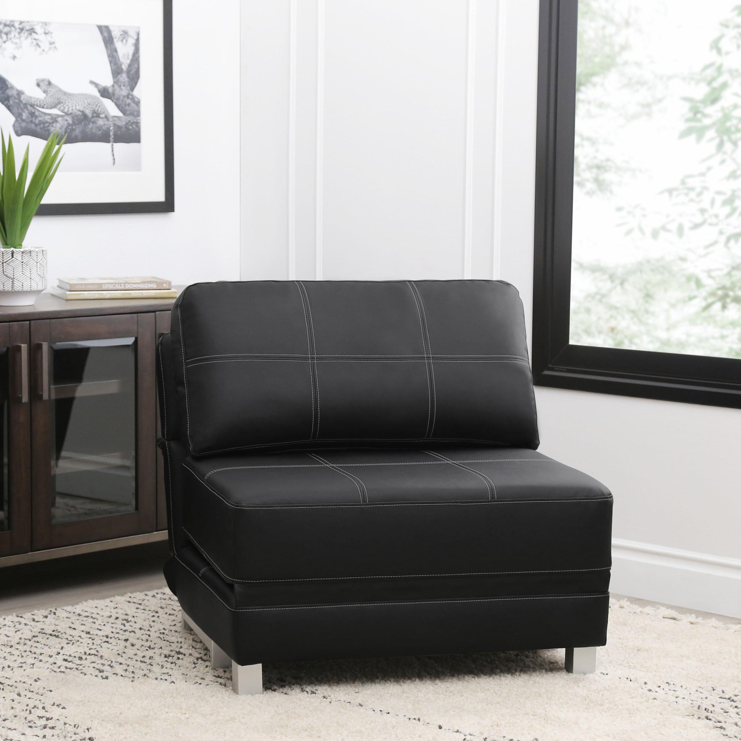 Latitude Run Windle Convertible Futon Chair Reviews