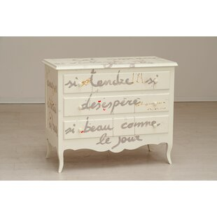 Collum 3 Drawer Chest By Fleur De Lis Living