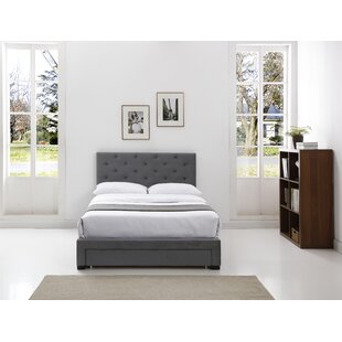 Amya Upholstered Platform Bed By Mercury Row