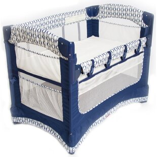 Ideal Ezee Bedside Crib with Mattress By Arm's Reach