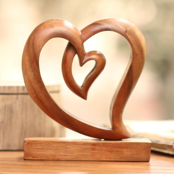 Large Wooden Sculptures Wayfair