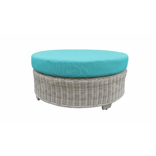 TK Classics Coast Ottoman with Cushion