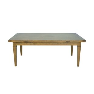 Hartford Extendable Solid Wood Dining Table by Gracie Oaks