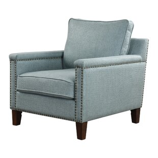 Brooklynn Sea Mist Arm Chair by Red Barrel Studio