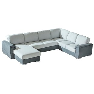 Haddington Sleeper Sectional by Orren Ellis Coupon