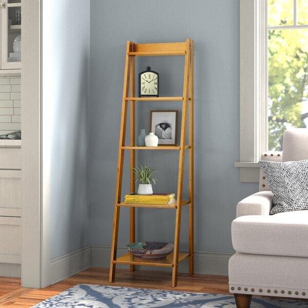 Andover Mills Matt 62 2 H X 17 32 W Solid Wood Ladder Bookcase Reviews Wayfair