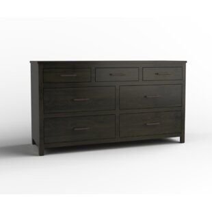 Ishika 7 Drawer Double Dresser
