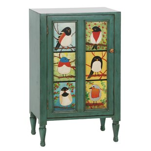 Pati B Bird Cupboard Accent cabinet by Gail's Accents