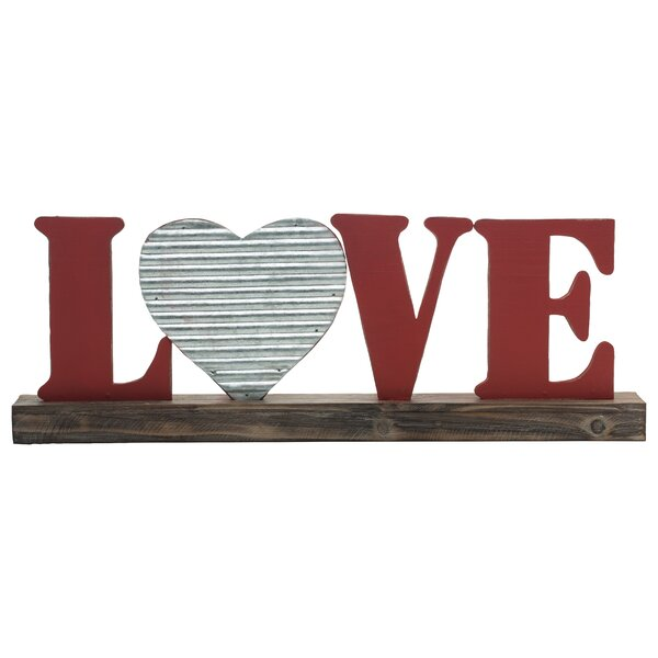 Beach Style Freestanding Wooden Love Blocks Decor Set Of 4 **FREE DELIVERY**