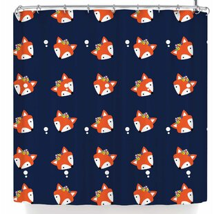 Shirlei Patricia Muniz Fox Single Shower Curtain