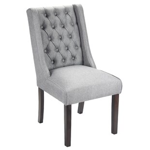 Pirton Button Tufted Upholstered Dining Chair