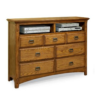 Imagio Home by Intercon Pasilla 7 Drawer Media Chest