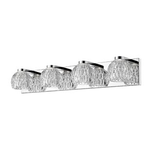 Ebern Designs Mills 4-Light LED Vanity Light