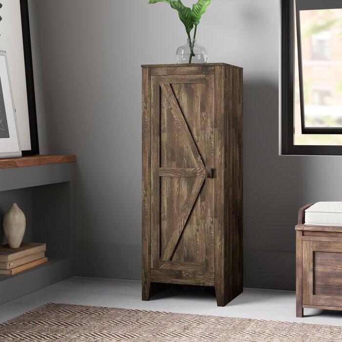 Laurel Foundry Modern Farmhouse Berenice 1 Door Accent Cabinet