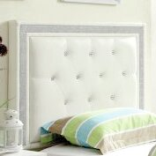 Find the perfect Algol Upholstered Panel Headboard by Willa Arlo Interiors