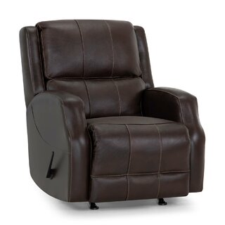 Annalee Leather Manual Rocker Recliner by Red Barrel Studio SKU:EB704580 Shop