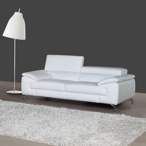 Gideon Italian Leather Sofa by..