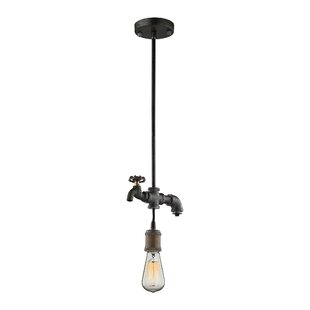 17 Stories Aguiar 1-Light Bulb Pendant