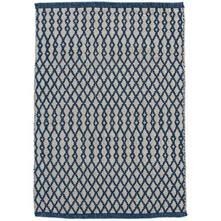 Harvey Hand-Woven Blue Indoor/Outdoor Area Rug
