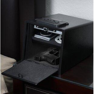 AdirOffice Rapid Retrieval Digital Pistol Gun Safe with Electronic Lock