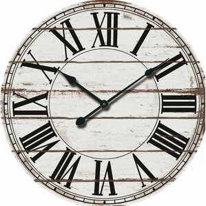 office large size floor clocks wayfair. oversized rustic wood 24 office large size floor clocks wayfair