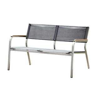 Whitten Stainless Steel Bench By JanKurtz