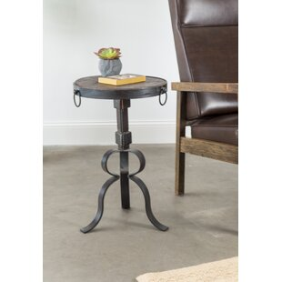 Macy Iron Accent Table by Darby Home Co