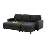"Askerby 90"" Reversible Modular Sectional with Ottoman"