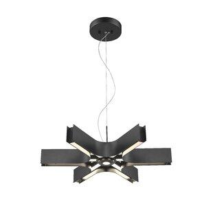 Orren Ellis Fountain 6-Light LEDNovelty Pendant