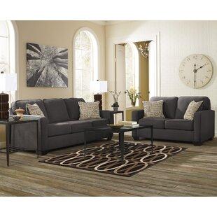 Gracie Oaks Phinnaeus 2 Piece Living Room Set