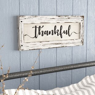 Farmhouse Wall Signs Wayfair